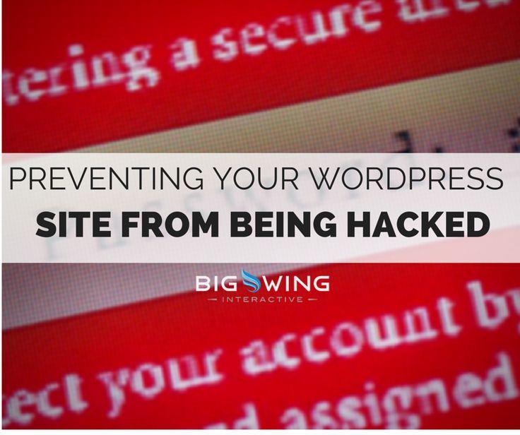 13 best web dev design images on pinterest wordpress creative 9 tips to preventing hacks in wordpress fandeluxe Choice Image