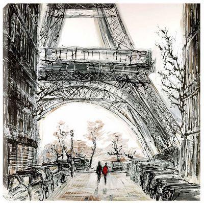 Paris art | Paris In Fall by Paul Kenton