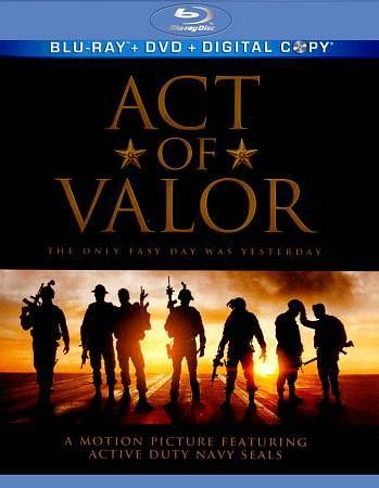 Act of Valor [Blu-ray]  DVD~VERY GOOD  CONDITION ~BLU RAY~DVD
