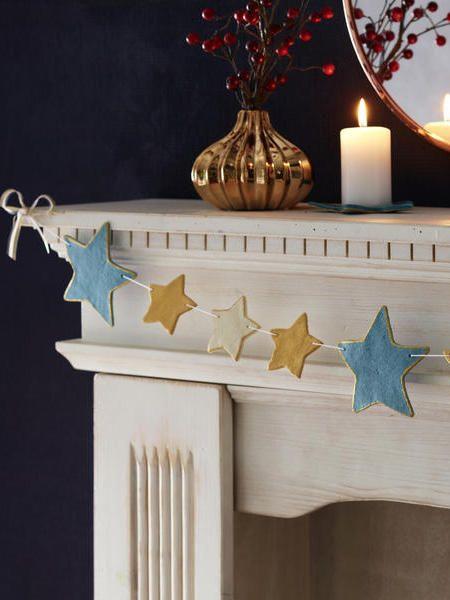 DIY-Tipp: Sternenkette aus Salzteig
