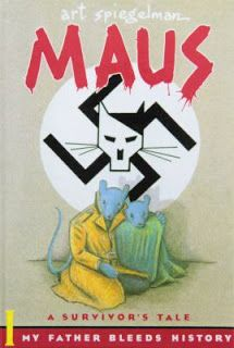 Bookblog of the Bristol Library: Maus I and Maus II by Art Spiegelman