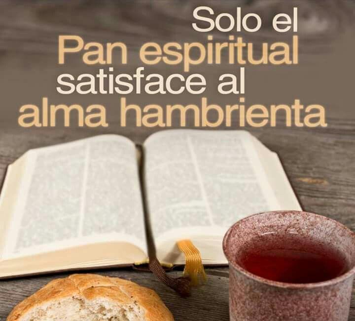Mateo 4:4 El respondió y dijo: Escrito está: No sólo de pan vivirá el hombre, sino de toda palabra que sale de la boca de Dios.♔