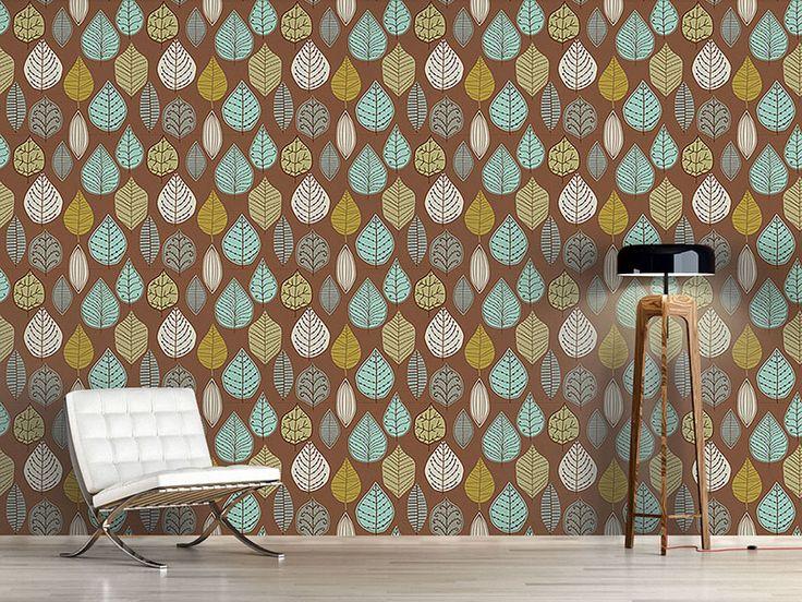 Hervorragend Design #Tapete Skandinavische Blattarchive