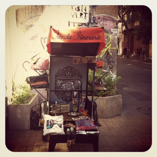 Our Itinerant Shop  in Santiago de Chile.  http://konvert.cl/