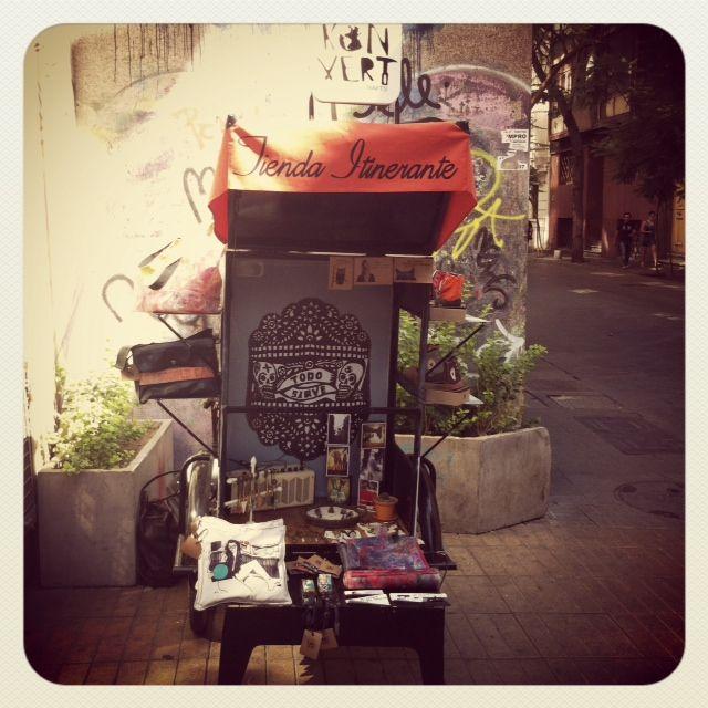 Our Itinerant Shop  in Santiago de Chile.  http://konvert.cl/