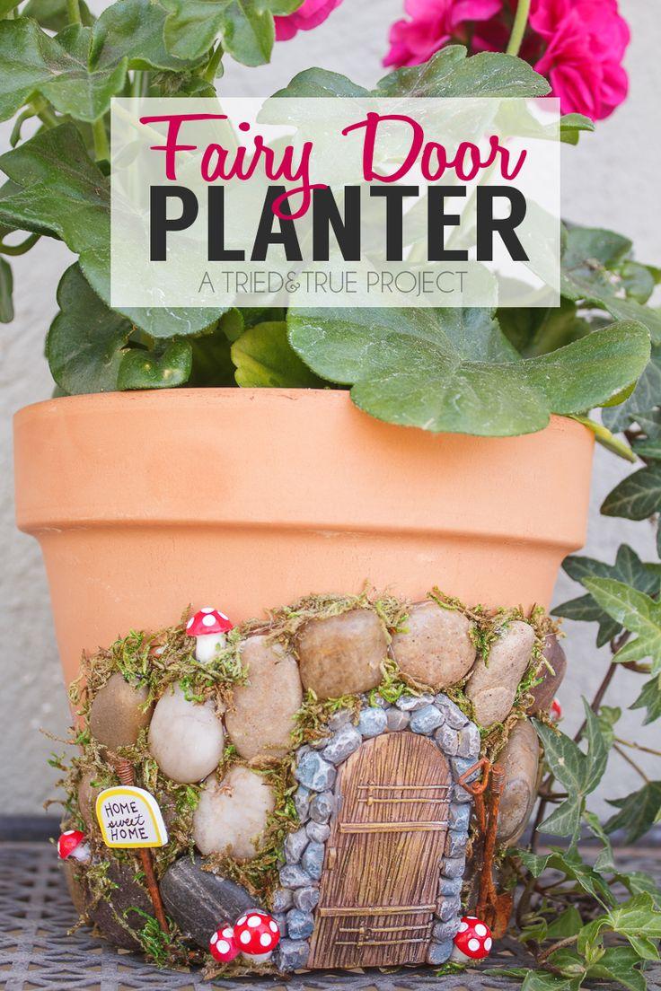 magical fairy garden planter