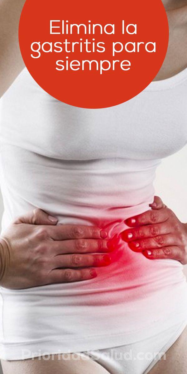 Elimina la gastritis con este remedio natural.