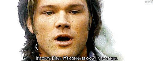 "Dean won't leave Sam ( ""Swan Song"") | Community Post: 10 Times ""Supernatural"" Made You Sob Like A Small Child || THE BEST EPISODE OF SUPERNATURAL ""Swan Song"" #Dean #Sam (﹂︹﹂ა) FEELINGS!!!"