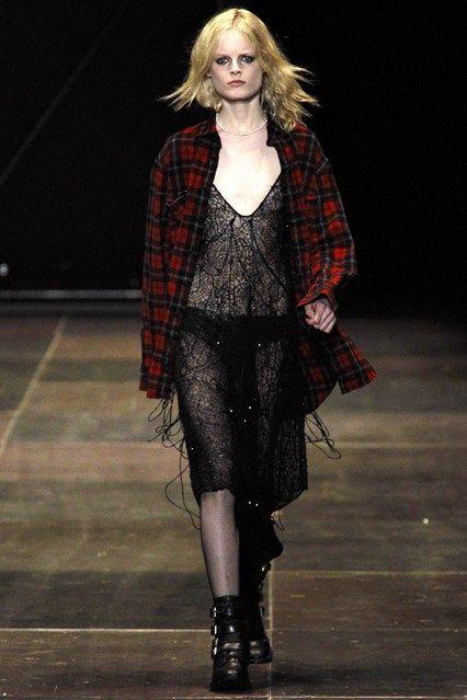 Saint Laurent - www.vogue.co.uk/fashion/autumn-winter-2013/ready-to-wear/saint-laurent/full-length-photos/gallery/950377