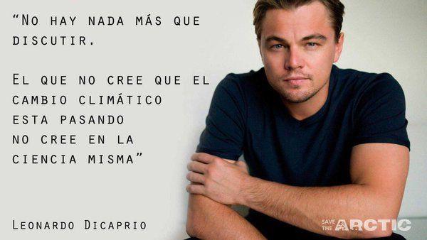 Gracias a rostros conocidos como #LeonardodiCaprio cada día , miles de personas son más conscientes de que el cambio climático existe y por desgracia ya no hay vuelta atrás.  Solo nos queda actuar, respetarlo y vivir en armonía con el planeta.  ❤️❤️❤️🌎🌏🌎