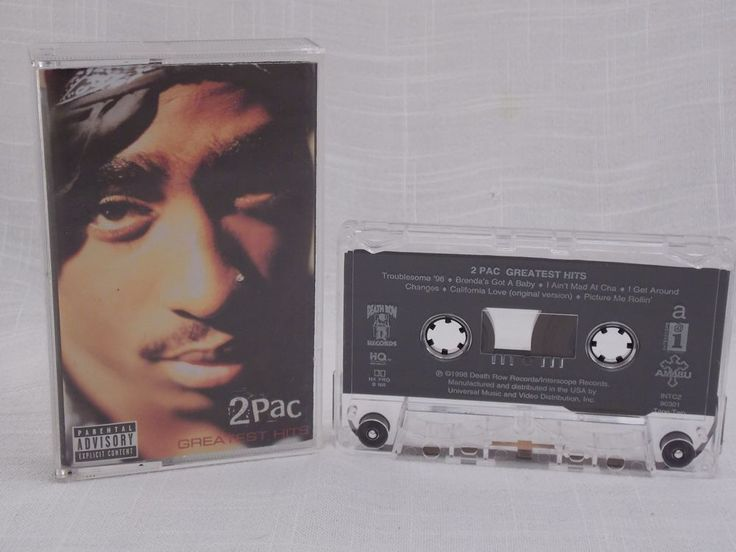 2PAC Greatest Hits Tape # 2 Only Audio Cassette Good Condition 1998 FREE SHIP #GangstaHardcore