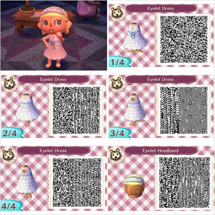 Found on lh3 googleusercontent comQr Codes Animal Crossing New Leaf Dresses
