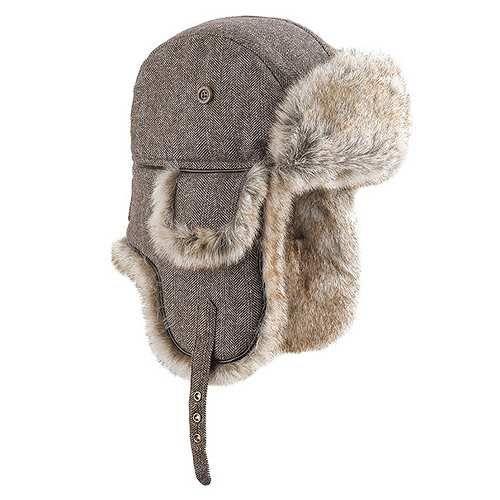 Prezzi e Sconti: #Colbacco wool eco russia marrone  ad Euro 27.90 in #Brekka #Moda uomo accessori cappelli
