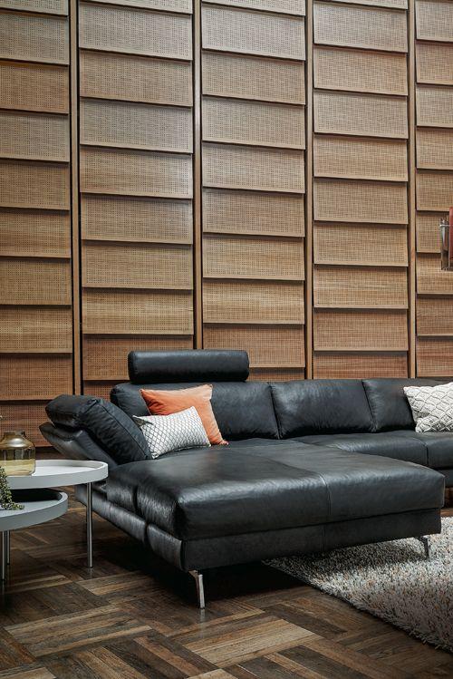 die besten 25+ sofa leder ideen auf pinterest | sofa leder braun ... - Designer Couch Modelle Komfort