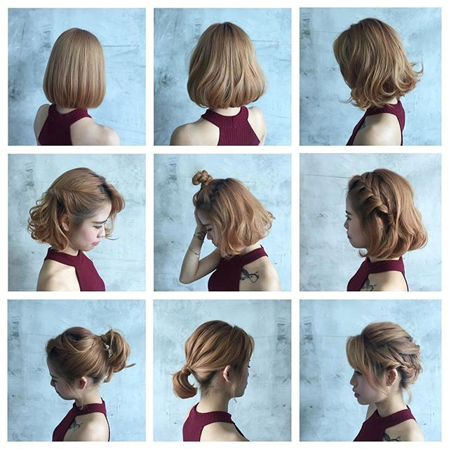 How To Style Shoulder Length Hair Simple Garnet Red Colour On Lumi's Midlength Hair Style 💖  Medium Hair
