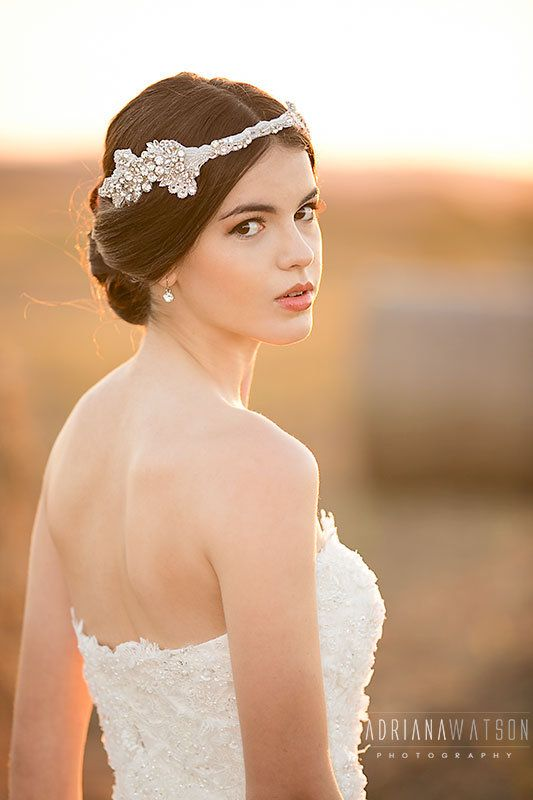Make up by Photo Finish Makeup.  Gown by Aleksandrovna Bridal Collection http://www.itsmywedding.com.au/vendor-profile/photo-finish-makeup/