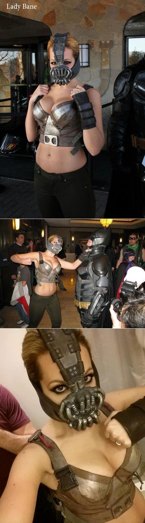 This is my Lady Bane costume worn at Super Megafest 2012. More costumes at http://www.facebook.com/nicolemariejeanpage