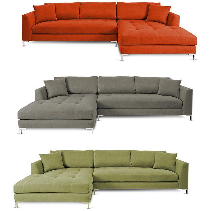 Decenni Custom Furnture Divina Ii Sectional Sofa By Decenni Custom Furniture Stainless Steel