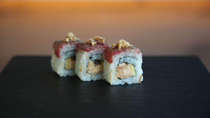 Receta | Uramaki de foie - canalcocina.es