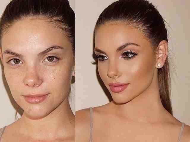 صور قبل وبعد الماكياج بنات صورة ٤ Mac Makeup Looks Makeup Makeover Hair Makeup