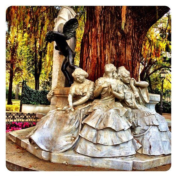 Parque de María Luisa in Sevilla