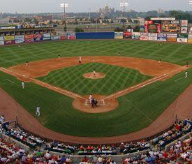 Principal Park home to AAA Iowa Cubs baseball