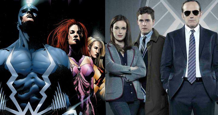 Will 'Agents of S.H.I.E.L.D.' Set Up Marvel's 'Inhumans' Movie? -- Next week's episode of ABC's 'Agents of S.H.I.E.L.D.' may be heading to the secret city of Attilan, home of Marvel's 'Inhumans'. -- http://www.movieweb.com/marvel-agents-shield-tv-show-inhumans-movie