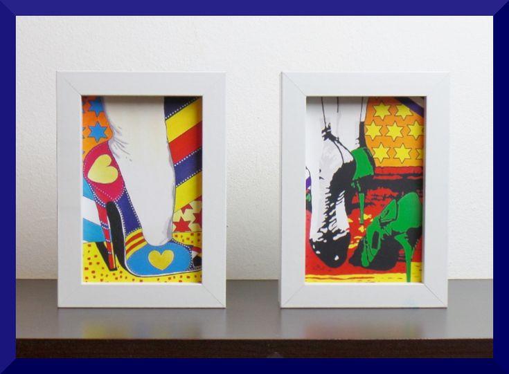 "Mini – Galerien by ""Allesandra Tiller"" – gerahmte Bilder 10×15 cm – verschiedene Motive – ab € 9,99 – www.popart-galerien.de"