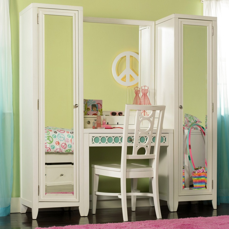 Best Bedroom Vanities Images On Pinterest Bedroom Vanities - Vanity set for teenager