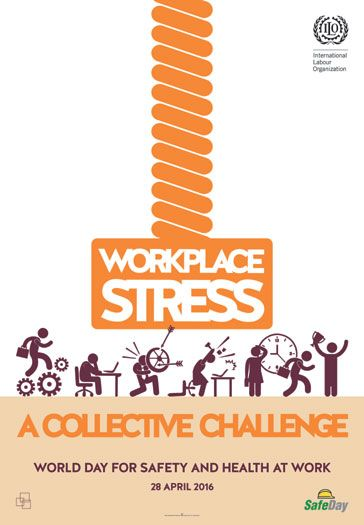 As the world marks World Day for Safety and Health at Work, Valentina Forastieri Senior Specialist, Occupational Health, Health Promotion and Well-being for the ILO, outlines the findings of the latest research on the impact of stress in the workplace. Re-pinned by #Europass