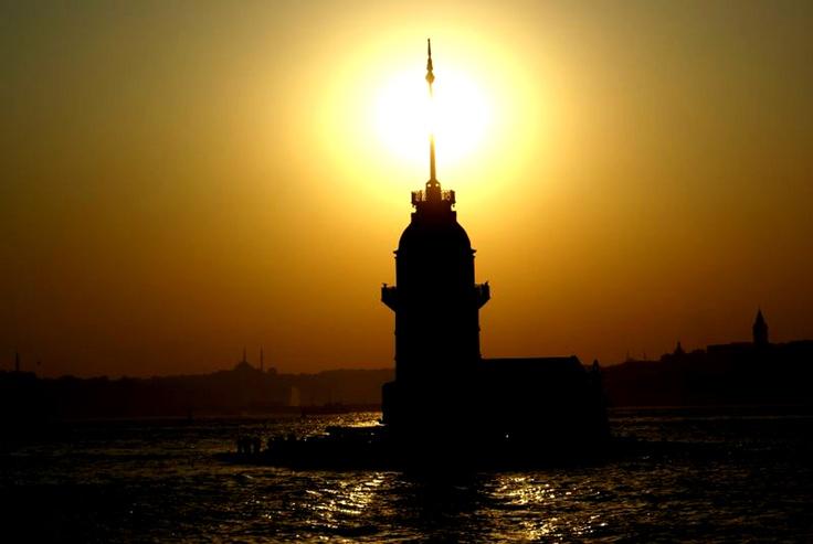 Maiden's Tower Salacak, Istanbul,Turkey