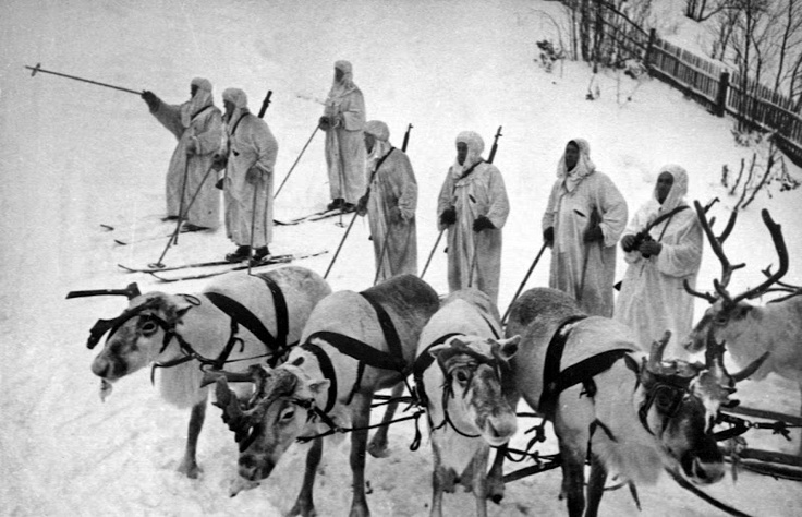 The Winter War, Finland WW2 (1939). Cry haake palle and let slip the riendeer of war! #EUtah #byuinternational