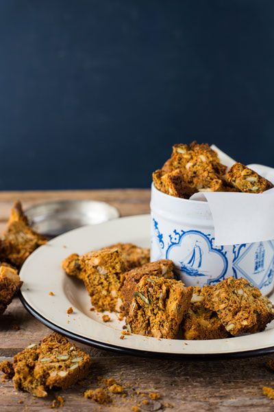 Pumpkin, Seed and Nut Rusks are perfect for LCHF or Banting diets. They are very crunchy and filled with goodness and great with a cup of tea!