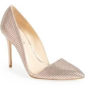 rose gold wedding heels - Google Search