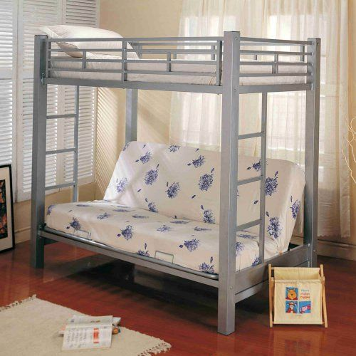 Home Source Industries Twin Over Futon Bunk Bed