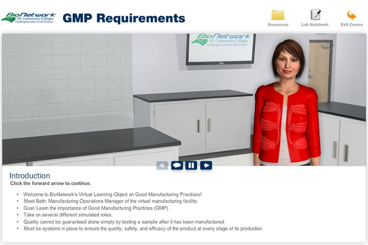Good Manufacturing Practice (GMP) Requirements | NC BioNetwork
