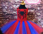 Spiderman tutu, spiderman tutu dress, spiderman costume, spiderman halloween costume, spiderman dress, spiderman comic con, spiderman party