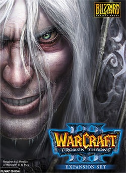 Warcraft III: The Frozen Throne expansion
