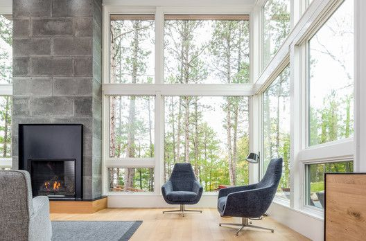 Gallery Of Northern Lake Home Strand Design 20 Modern Lake House Lake House House Design