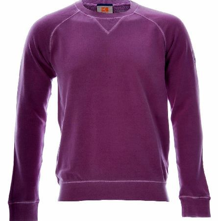 Hugo Boss Wheel Sweatshirt Purple Hugo Boss Wheel Sweatshirt is a Urban sweatshirt from BOSS Orange with a round neck and casual top stitching. The pure sweat cotton fabric features a toweling finish on the inside while the classic ne http://www.comparestoreprices.co.uk/designer-sweatshirts/hugo-boss-wheel-sweatshirt-purple.asp