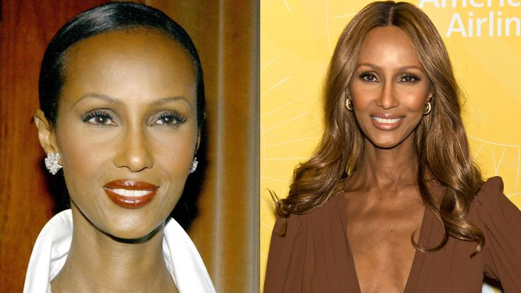 19 celebrities who get better with age: Iman