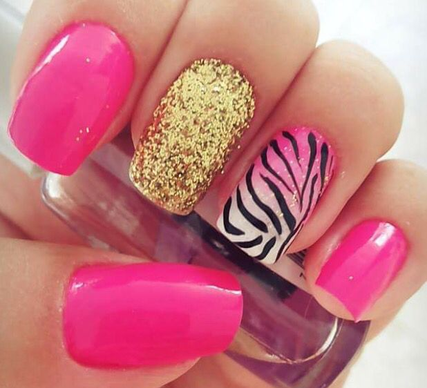 Pink com animalprint