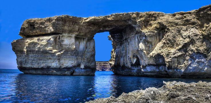"""9 Real-Life """"Game of Thrones"""" Settings Azure Window, Gozo, Malta"""
