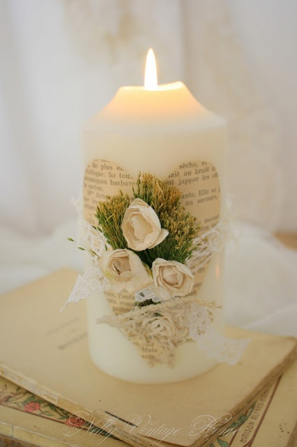 vela decorada