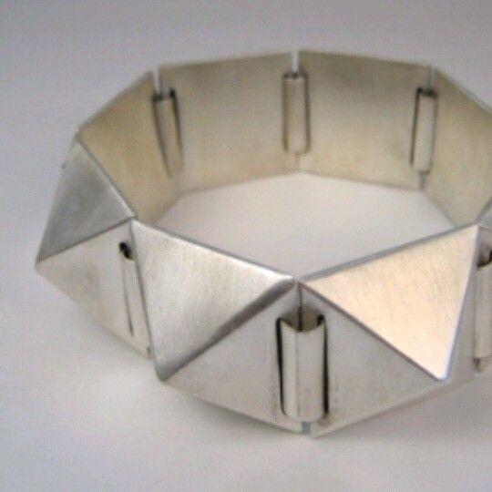 Sterling silver bracelet for men or women by Sean Ward Jewellery Design https://www.etsy.com/ca/shop/seanWardjewellery