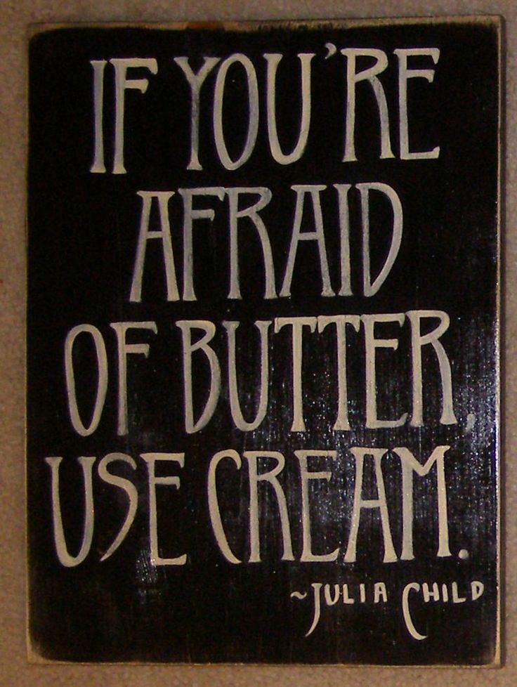 Julia Child Cooking Kitchen Sign Plaque Quote by shabbysignshoppe. via Etsy.