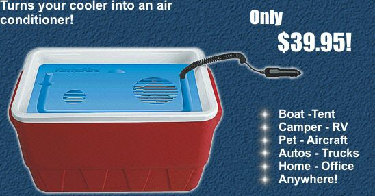12 Volt Camper Air Conditioner by KoolerAire Only $39.95!