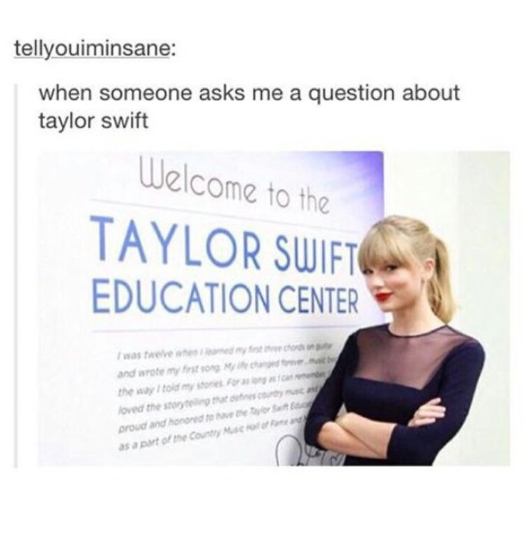 Welcome to the Taylor Swift Education Center