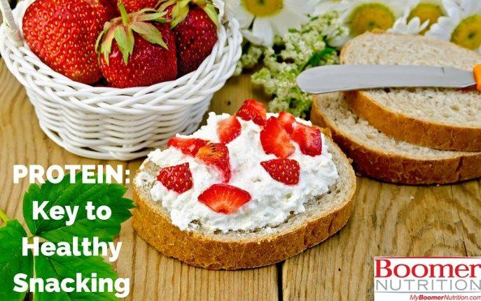PROTEIN Key to Healthy Snacking_logo