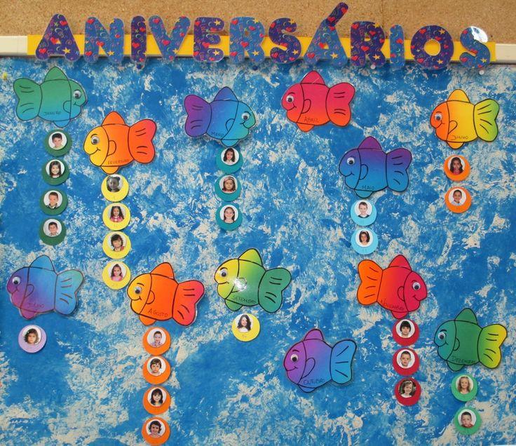 quadros de aniversário para pré-escolar - Pesquisa Google